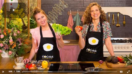 Cocina de la Felicidad para Canal Cocina