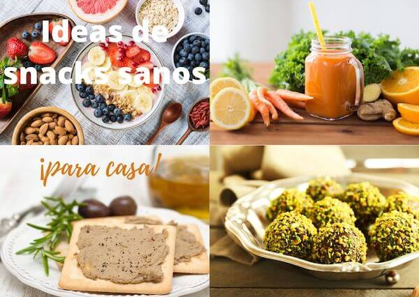 Cómo preparar snacks fáciles y saludables cuando en casa hay hambre a todas horas