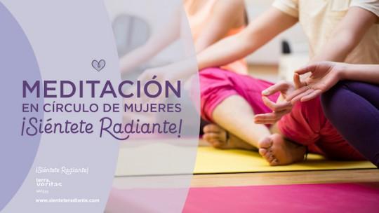 Meditación círculo de mujeres Pilar Benítez mes de mayo