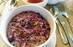 Copos de avena con frutos rojos y omega 3