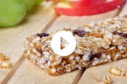 Barrita de cereales y frutos secos