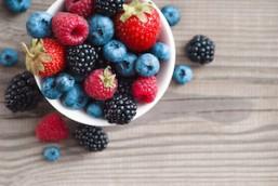 Frutas con más antioxidantes