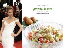 Elsa Pataki y la portada del libro ¡Revitalízate!