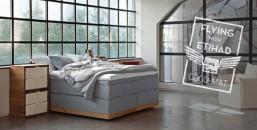 Dormitorio con colchones de coco-mat