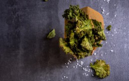 Chips de col kale