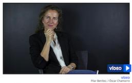 Pilar Benítez en el diario Montañés