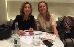 Pilar Benítez e Ima Sanchís en el Metropolitan Iradier