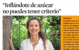 Pilar Benítez en la Contra de la Vanguardia