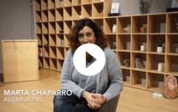 Mujer radiante Marta Chaparro