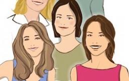 Historias de mujeres radiantes