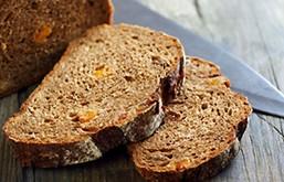 pan de levadura madre y harina integral