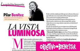 Artículo de Pilar Benítez en Objetivo Bienestar