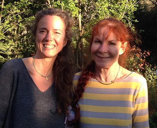 Pilar Benítez y Jutta Kellenberger