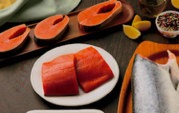 Salmón rojo (salmón salvaje de Alaska)