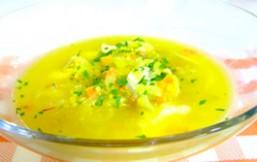 sopa de rape con quinoa