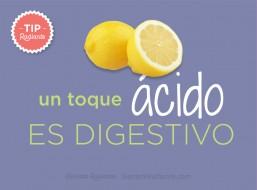tip radiante sabor ácido
