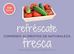 tip radiante zumos vegetales